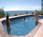 As férias mais quentes para essas três garotas gostosas