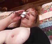 Sexo teléfono con una madura