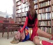 Superwoman est énervée