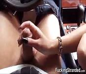 Die gestrandete Vanessa Rodriguez wird gefickt