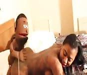 Fodida por uma marionete safada