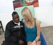 A blonde for a black men