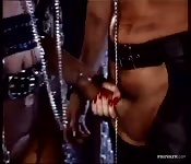 Bondage loving dominatrix