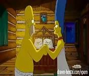 Os Simpsons como nunca os viu!