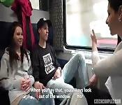 Follando Con Mis Hijos En Un Tren