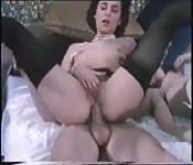 Inclinación anal vintage
