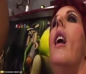 Gestos al tener un orgasmo anal