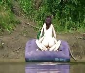Betrapt tijdens seks op meer