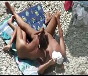Wspaniała robota ręczna na plaży