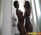 Black lesbians interracial threesome act