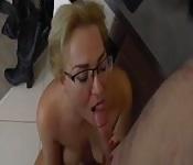 Abuela cachonda follada fuerte