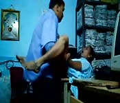 Indian office romp