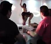 Latina dances for foursome