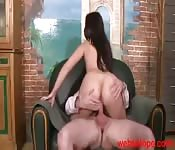Arab Woman with Curvy Ass gets Fucked
