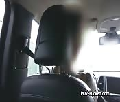 Horny redhead teen fucked by cab driver