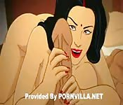 Cartoon Indian sex