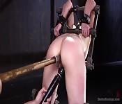 Casey Calvert bei extremem Anal-BDSM