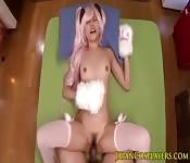 Barbie sendo fodida