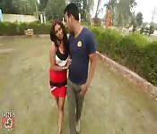 Young Couples Enjoying at Park Mms