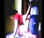 Indische vrouw stiekem gefilmd