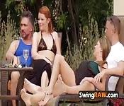 Aus Swingerparty wird Sex