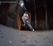 Masturbation dans la ruelle
