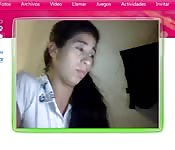 Argentine in webcam