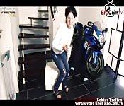 deutsche motorrad tattoo bitch fickt biker