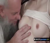 Wet pussy filled with hard cock