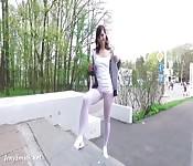Jeny Smith sportiva ed arrapante