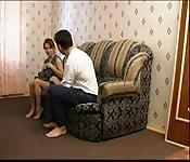 Sie saß auf seinem Gesicht und wurde geleckt