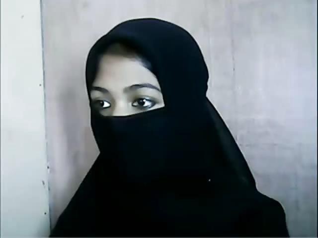 Hijab niqab shower sex videos