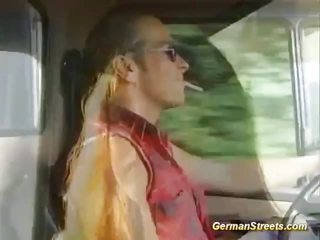 particulier sex neuken in de vrachtwagen