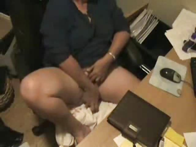 Hidden camera catches girl naked
