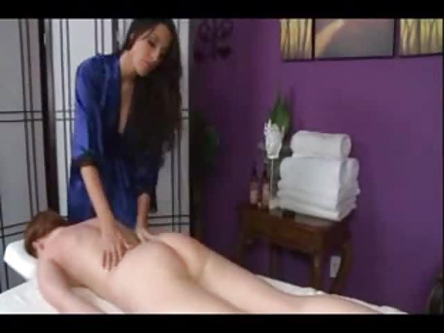 Lesbian Massage Up Close
