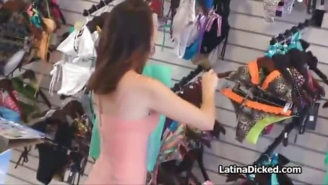Bikini shop porn