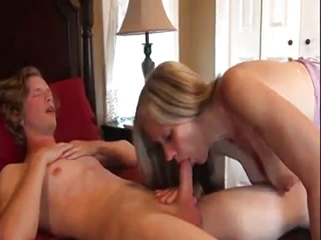 La belle-mère donne une leçon à son fils