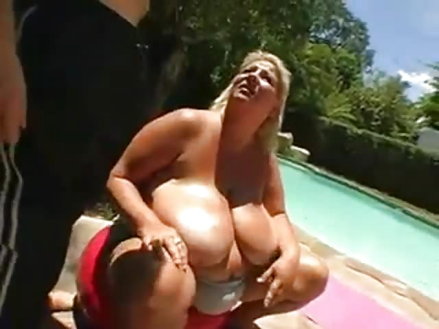 Red Head Huge Tits Anal