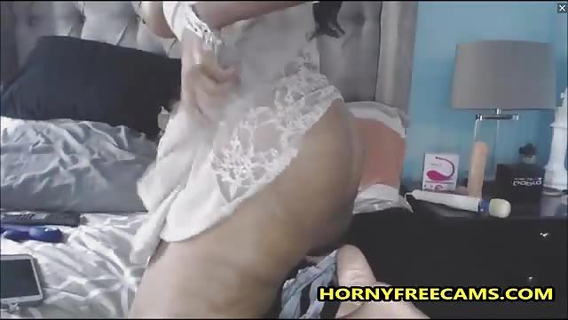 Hairy Masturbation Finger Solo