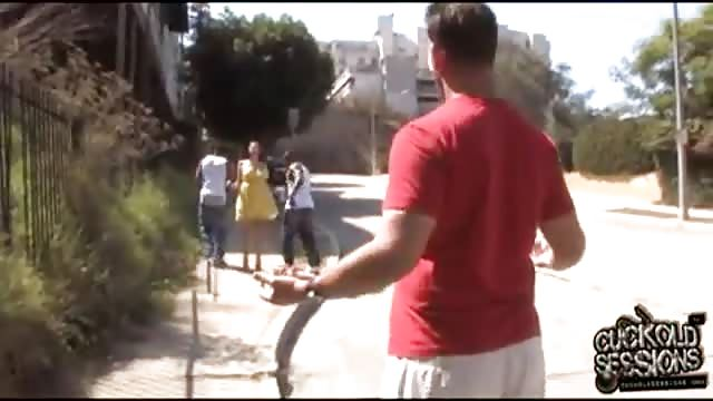 Reife Frau wird von einem Schwarzen gefickt - EisPop