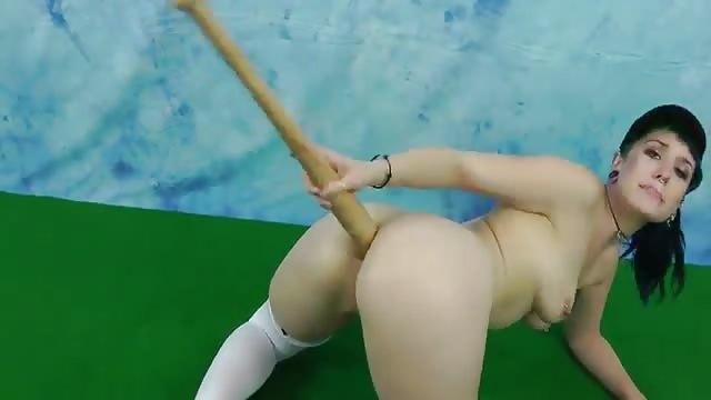 gratis porn mazza da baseball in culo