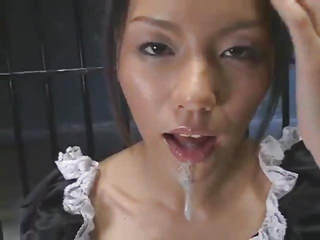 Japanisch Anal Wichse Schlucken