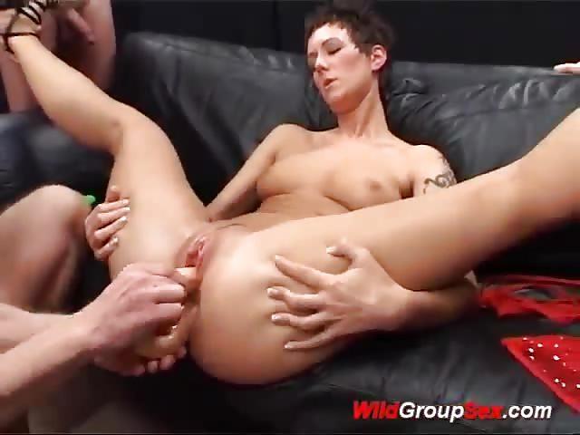 duiveltje Duitse amateur orgie