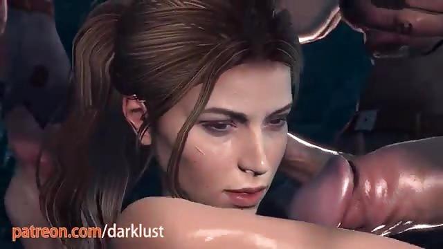 Lara croft Pornofilm Am besten schwarze Muschi essen